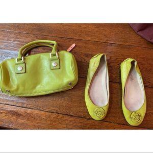 Michael Kors Bags - 💚 Michael Kors Vintage Bag & Flats 💚